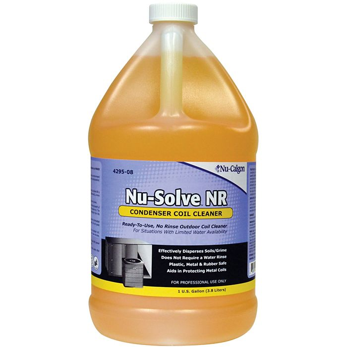 NU-SOLVE OUTDOOR CONDENSOR COIL CLEANER - NO WATER NEEDED