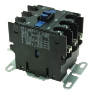 CONTACTOR - 30A 3-POLE (24V COIL) W/AUXILARY CONTACTS