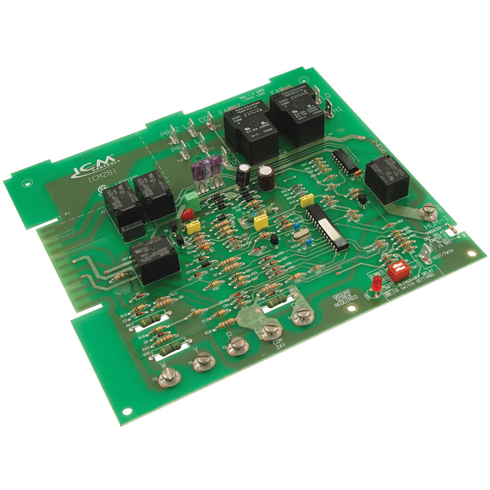 ICM281 FAN CONTROL BOARD CARRIER REPLACEMENT