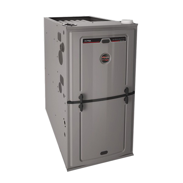 *U802VA050317MSA 80 UPF GAS FURNACE RUUD 2STG ECM VS
